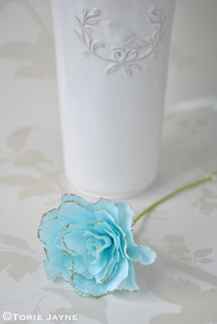 Rico Crepe Paper Rose Tutorial