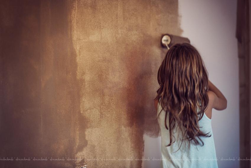 Todo el atardecer en mi pared para Litel Pipol... Semana 27 (Tercer Año)