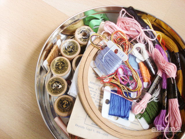 Embroidery Box