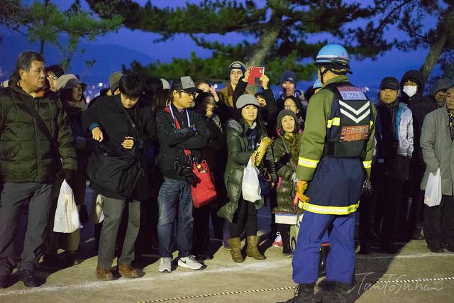 厳島神社 鎮火祭(大晦日)