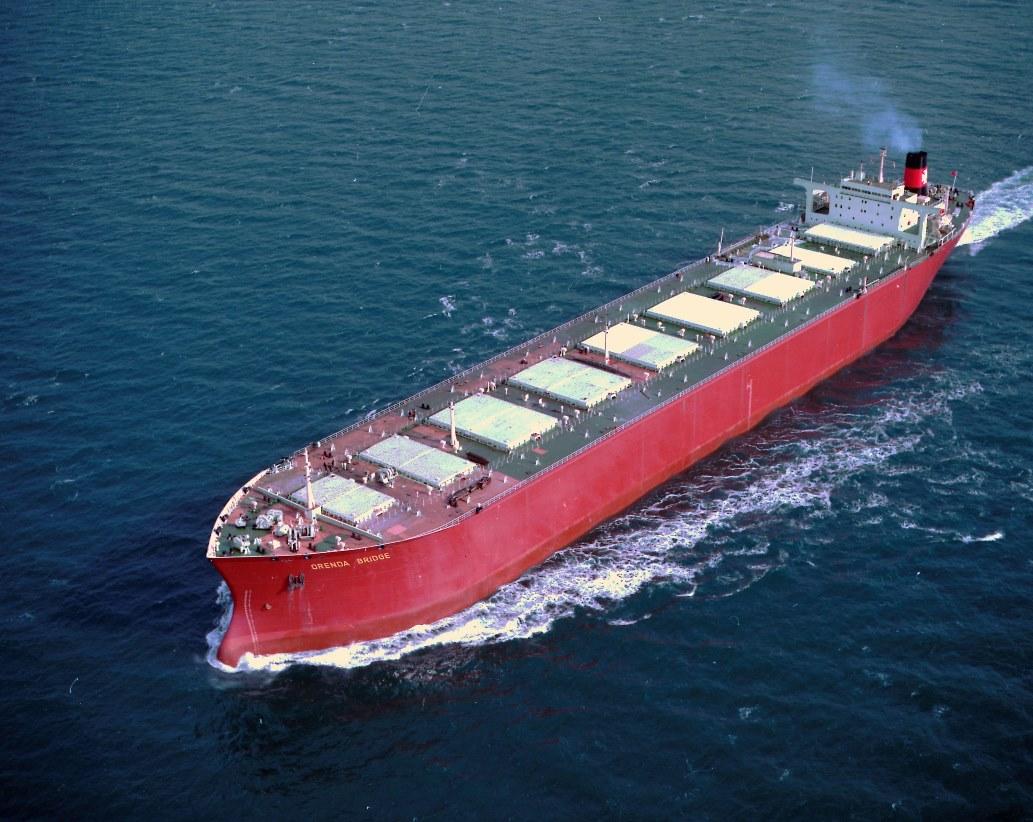 Sea trials of the bulk carrier 'Orenda Bridge'