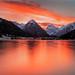 Tyrolean Sunset by Clickpix