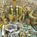 Amazing view of Sacred Masjid Al-Haram, Makkah