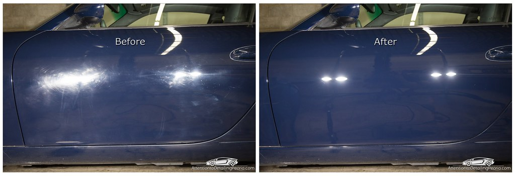 ATD | Porsche 996 before and after shots