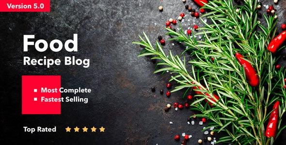 Neptune v5.0 - Theme for Food Recipe Bloggers & Chefs