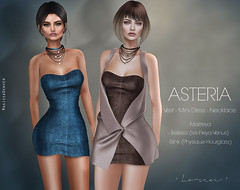 "Asteria ""Loren"" Vest - Mini Dress - Necklace"