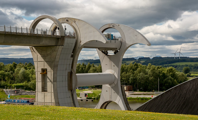 Top of the Falkirk Wheel