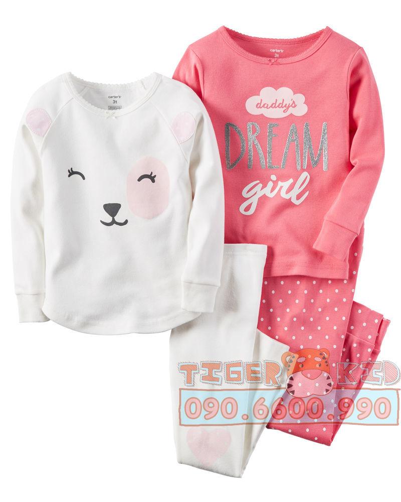31015241635 635f9911dd o Bộ set Pijamas nhập Mỹ bé gái