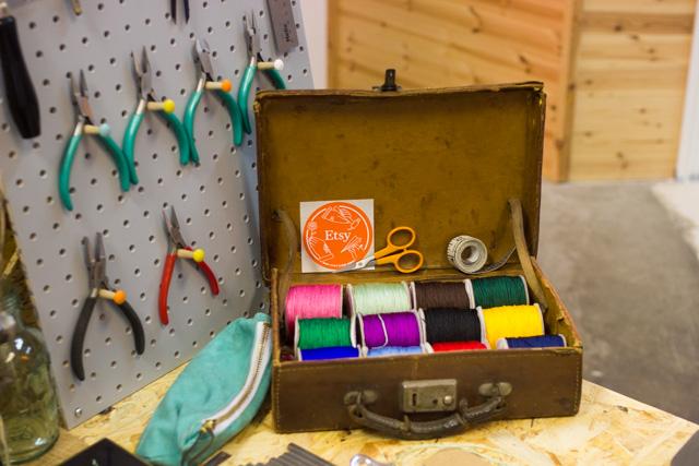 Brighton based Etsy seller workshop