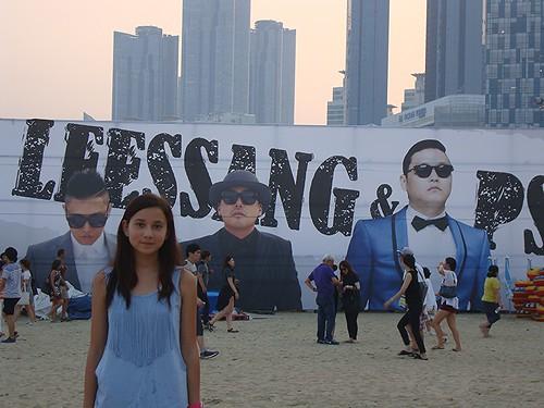 Psy in Busan