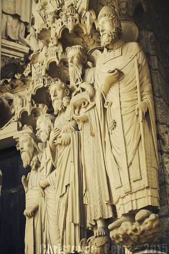 Carved Stone ~ Chartres Cathedral