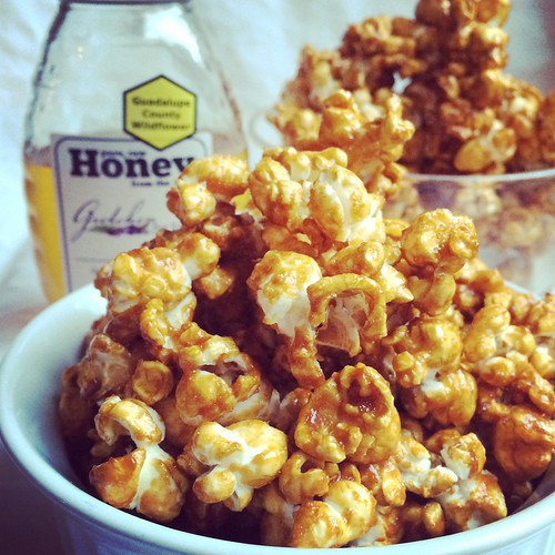 Honey Caramel Popcorn