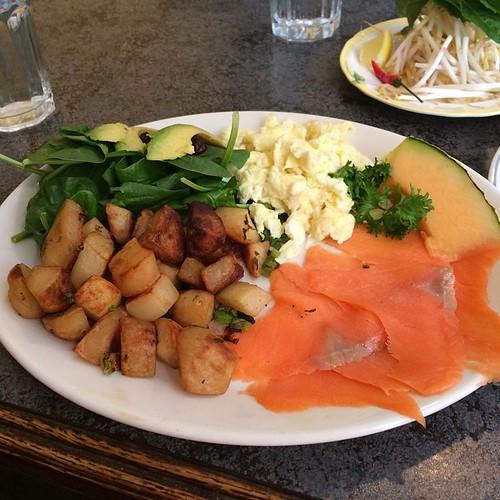 Salmon and eggs #yegfood