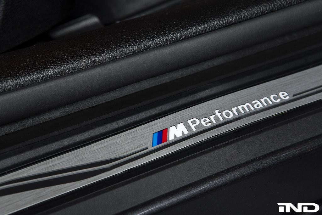 BMW M Performance F82 M4 LED Illuminated Door Sill Set