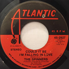 THE SPINNERS:COULD IT BE I'M FALLING IN LOVE(LABEL SIDE-A)