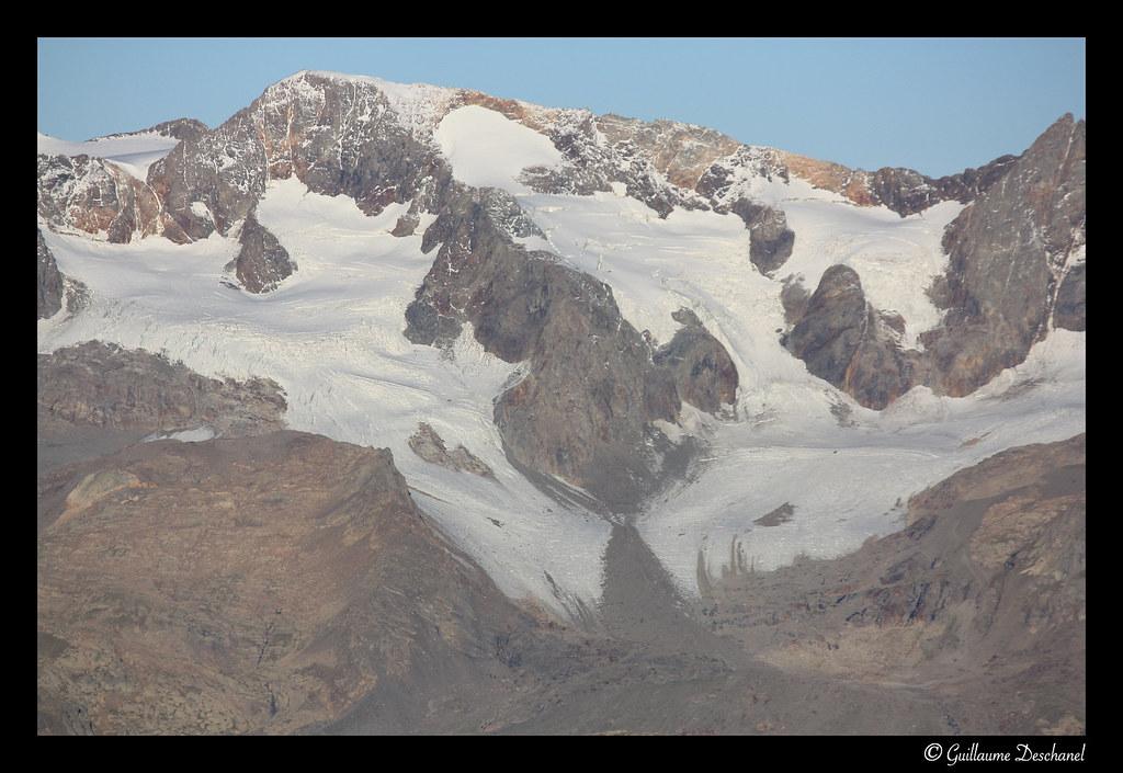 Le Pic Bayle et le Glacier des Quirlies