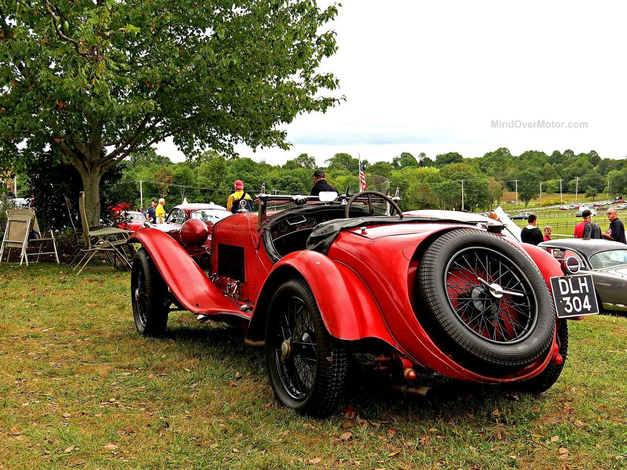 Radnor Hunt Alfa Romeo 8C 2300 Mille Miglia Rear