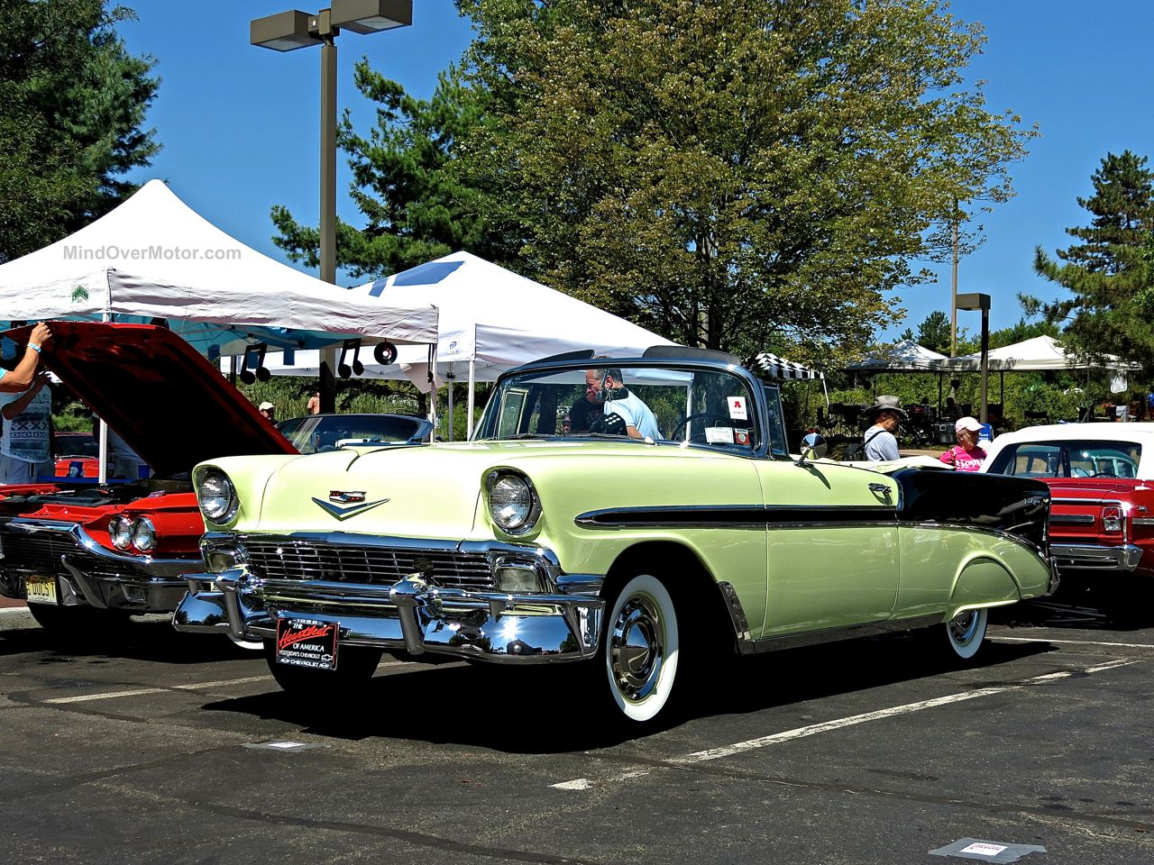 Chevrolet Bel Air Convertible Lead East 2