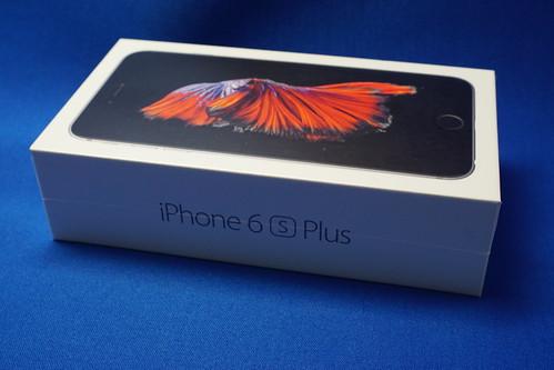 遅ればせながら開封レポート iPhone 6s Plus がやってきた