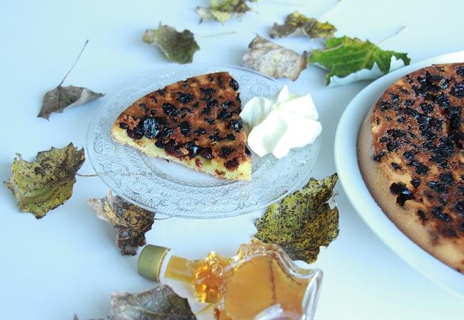 Gâteau d'automne aux cranberries_et_chantilly_au_sirop_d_érable_la_rochelle_14