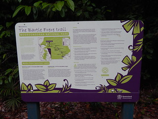 Trail map, Mount Bartle Frere