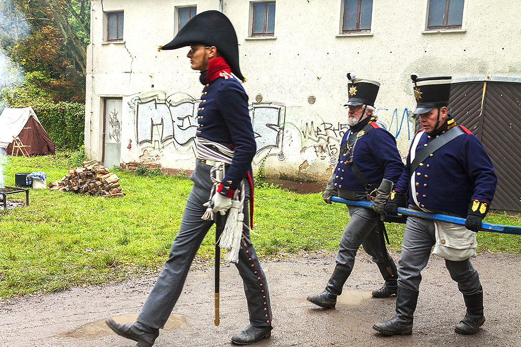 Battle of Leipzig reenactment--Markkleeberg