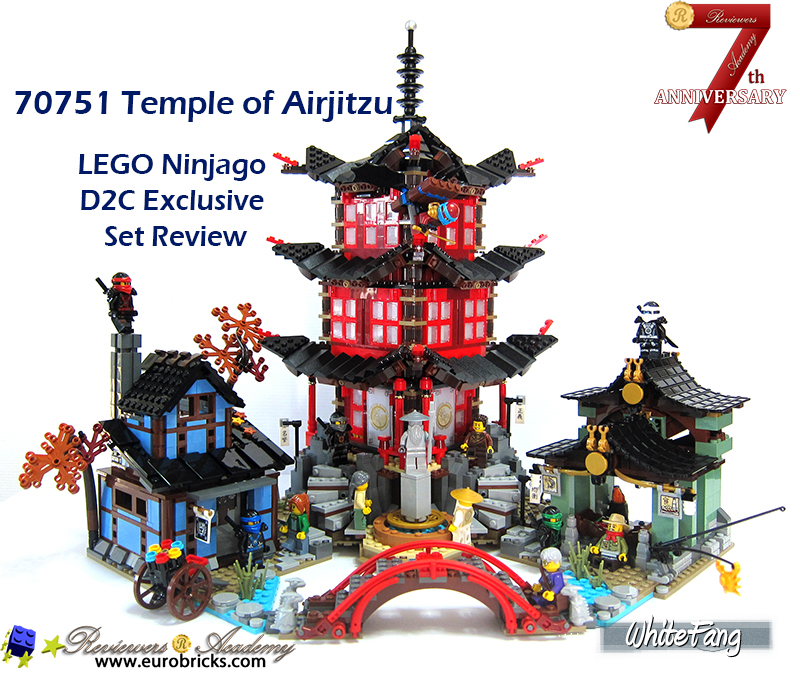 REVIEW: 70751 Temple of Airjitzu - LEGO Action and Adventure