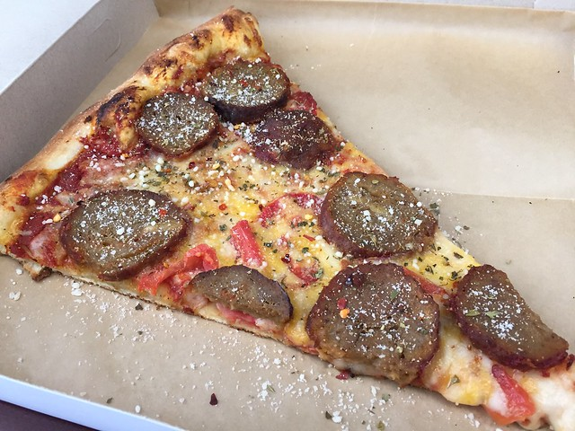 Meatball slice - Escape From New York Pizza