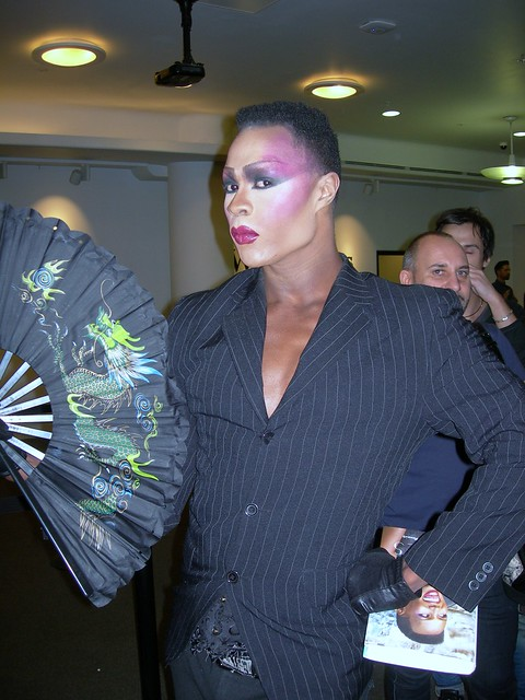 Grace Jones Lookalike