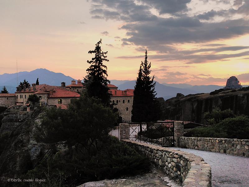Convento Agios Stéfanos, en Meteora