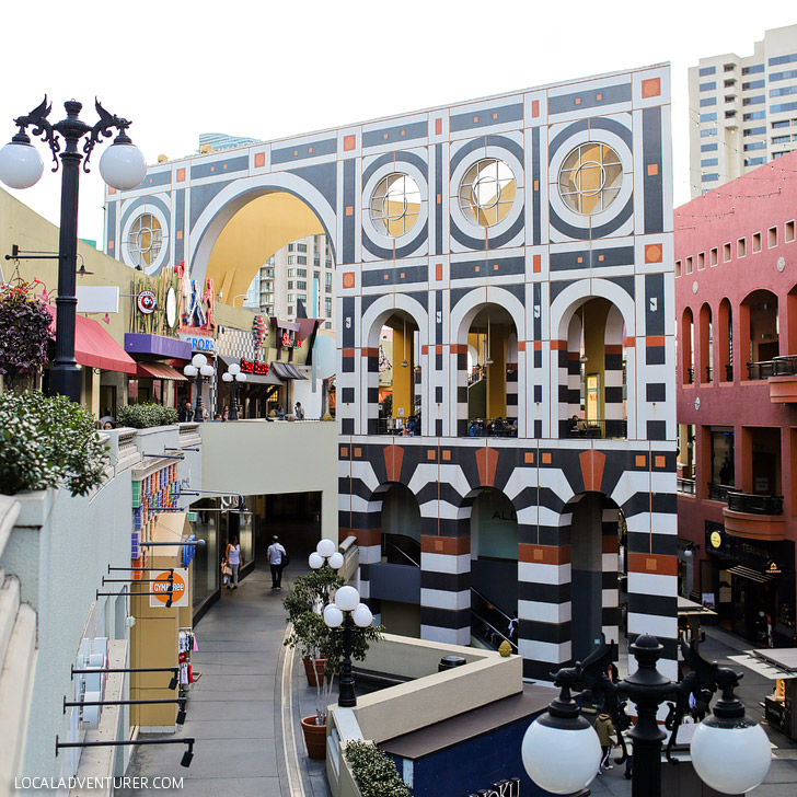 Westfield Horton Plaza (25 Free Things to Do in San Diego).