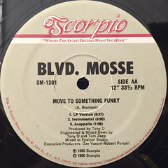 BLVD. MOSSE:ALL PRAISES DUE TO OUTSTANDING(LABEL SIDE-B)