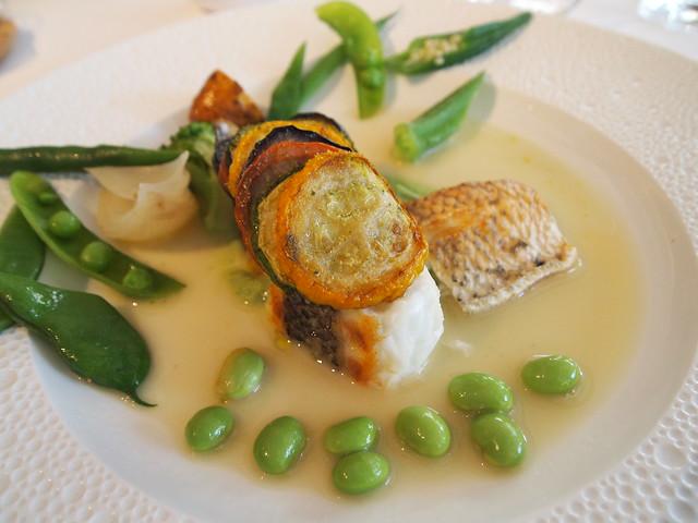 P7100053 GEORGES MARCEAU(ジョルジュ マルソー) 福岡 ランチ フランス料理