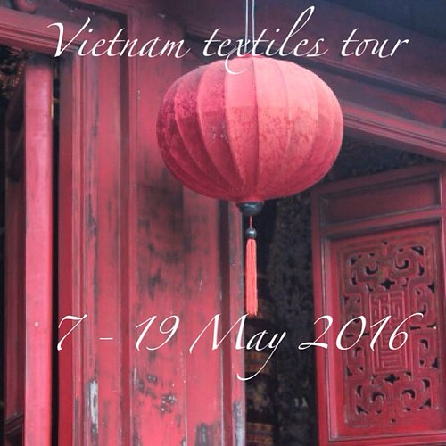 Vietnam textiles adventure redux! (I got...