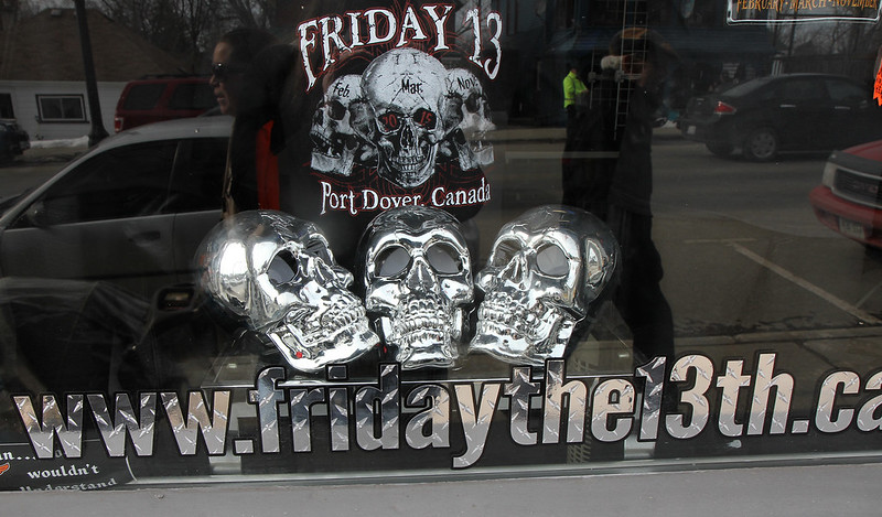 PD Friday 13th storefront