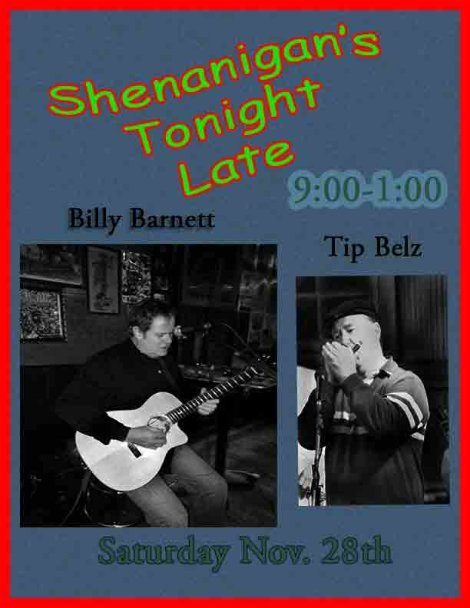 Billy Barnett & Tip 11-28-15