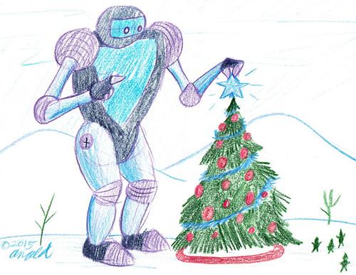 12.9.15 - Christmas Robot