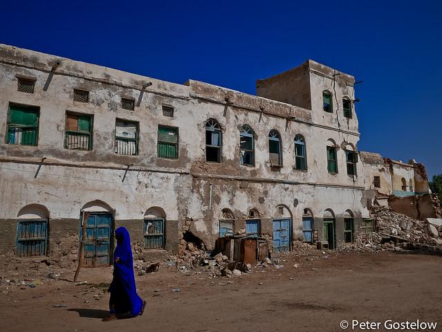 Old building in Berbera