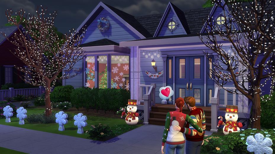 Decorazioni Natalizie The Sims 4.The Sims 4 Pacchetto Celebrazione Festivita Aggiornato Simsworld