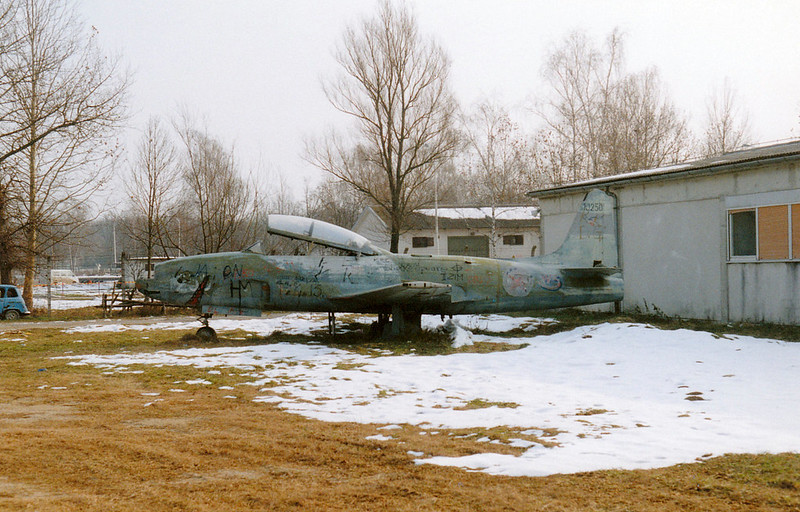 Relic: Yugoslavian Air Force, Lockheed TV-2 Seastar, Serial: 10250