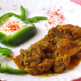 Creamy Mutton Curry with Dal( Pegion Pea)