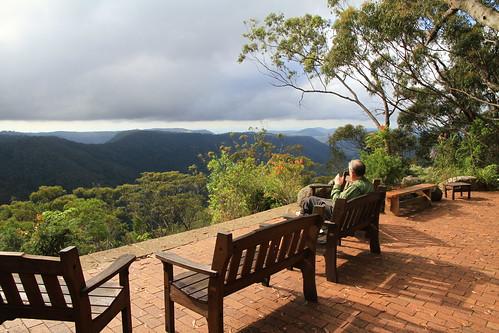 澳洲昆士蘭-Binna Burra Sky Lodges-山雨欲來景觀-20141120-賴鵬智攝-2