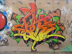 Latimer Road graffiti
