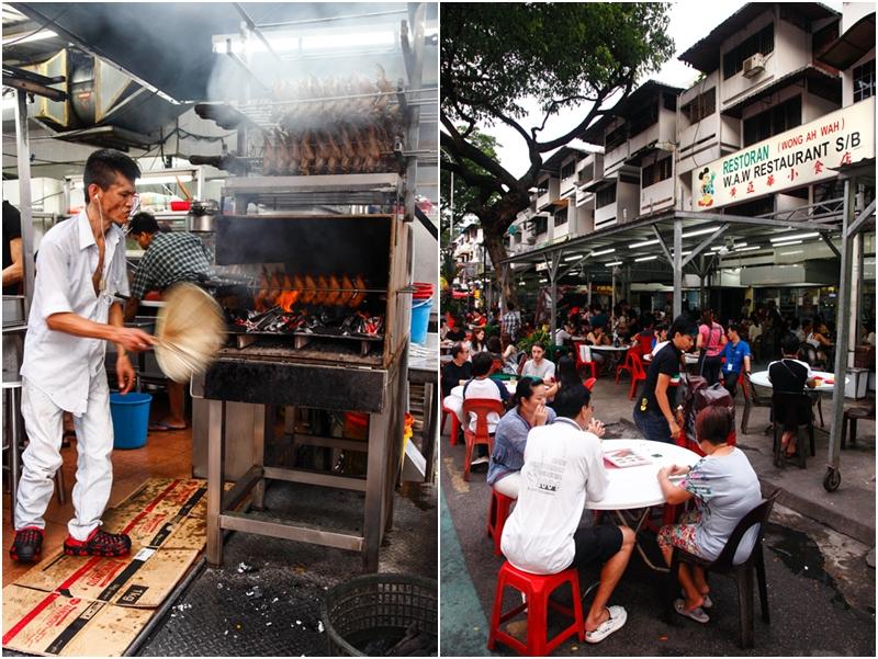 Wong Ah Wah restaurant Jalan Alor