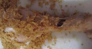 Crispy chicken - Rolling in bread crumbs