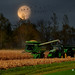 Harvest Moon # 17 by Mike Linnihan