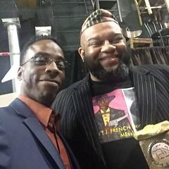 @faharrafvision and The Great Ronald Herd ll Here at the 21st Annual Stone Awards Memphis Tennessee!  #FFVWORK #TEAMLOVE  IG, @faharrafvision Twitter, @faharrafvision FB, Fa-Harra F. Vision Snapchat, Fa-Harra #SonofAAG  #iVDFAM #FFV #memphisgoldanddiamond