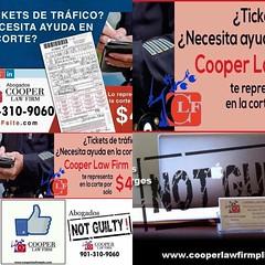 Necesitas ayuda con tus Tickets llámanos al (901) 310-9060 nosotros vamos por ti CarAccidentsLawyerCLF.com