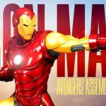 Sideshow Collectibles【鋼鐵人】Avengers Assemble Iron Man 1/5 比例全身雕像作品