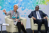 President Macky Sall of Senegal Visits IMF